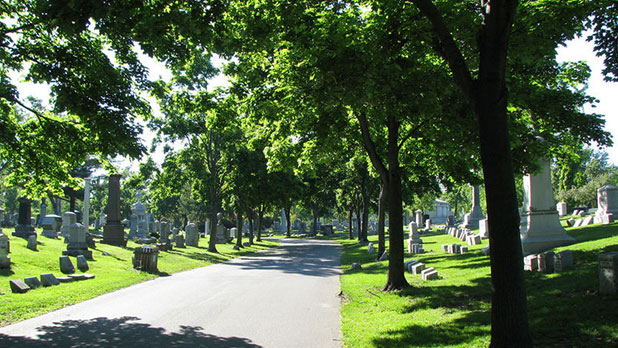 Forest Lawn Cemetery - Photo Courtesy of Forest Lawn Cemetery