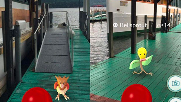 Lake George - Pokemon