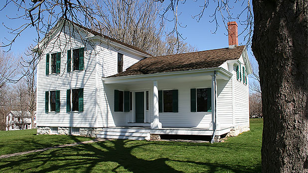 Elizabeth Cady Stanton House -Photo Courtesy of National Park Service