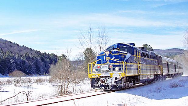 Saratoga & North Creek Railway - Photo Courtesy of Saratoga & North Creek Railway