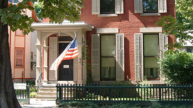 Susan B. Anthony House and Museum-Photo by SBA house