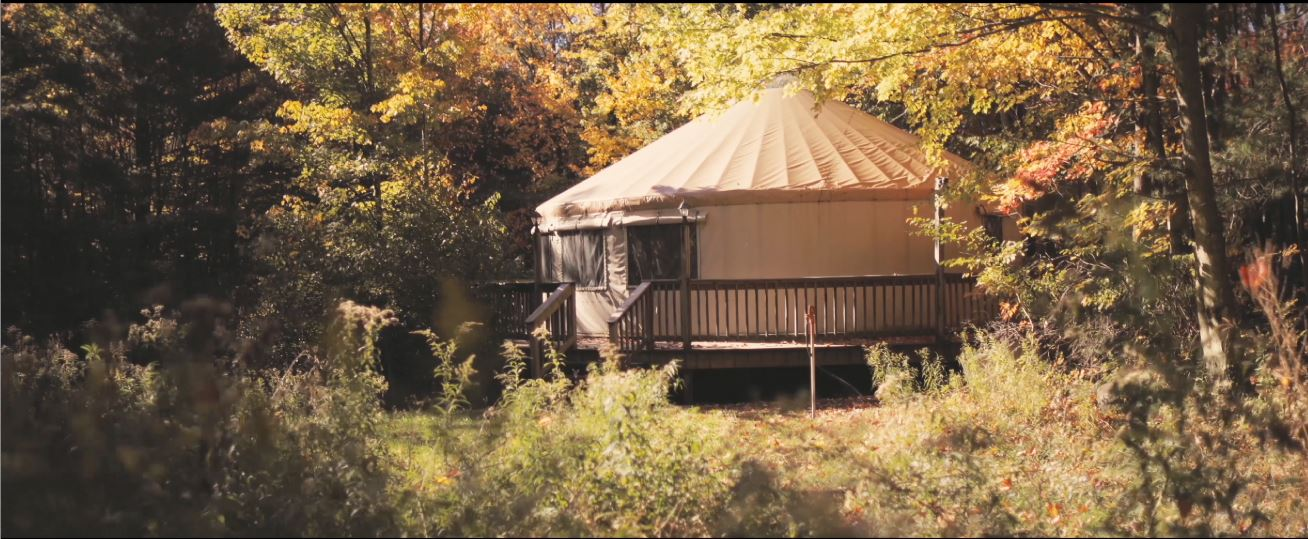 Yurt at Harmony Hill
