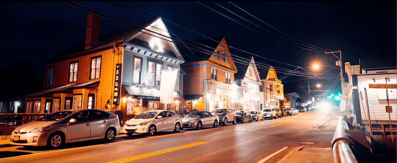Tannersville at Night