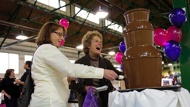 Wine & Chocolate Fest 2011 - Photo Courtesy of Wine & Chocolate Festival