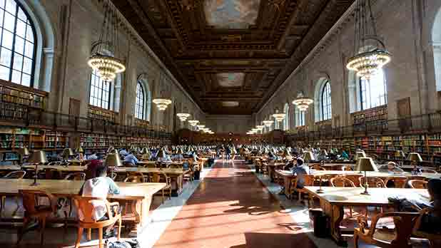 NY Public Library - Photo by Will Steacy Courtesy of NYC & Co