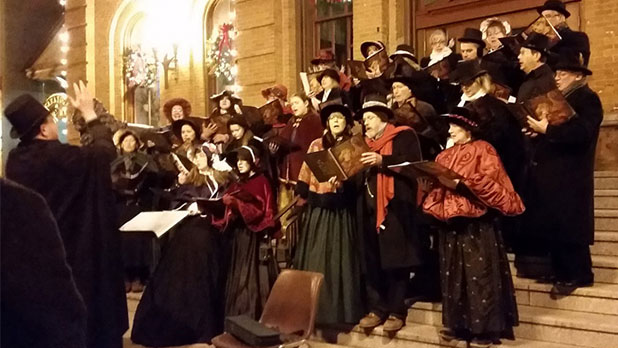 The Victorian Street Walk and Tree Lighting Ceremony