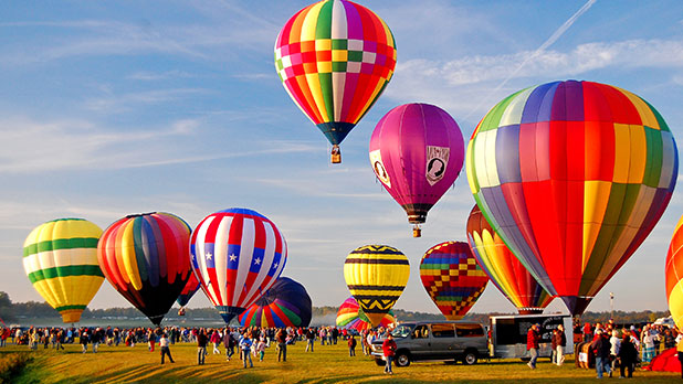 Adirondack Balloon Festival - Photo by Will Cook