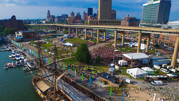 Buffalo Canalside - Photo Courtesy of Visit Buffalo Niagara