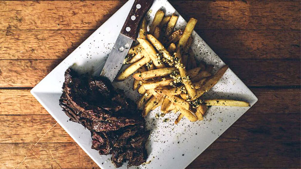 Love Lane Kitchen - Steak Fries - Photo cred David Benthal