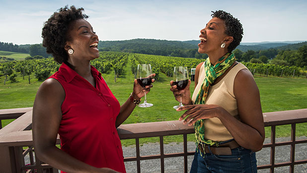 Millbrook Vineyards Winery in the Hudson Valley Region