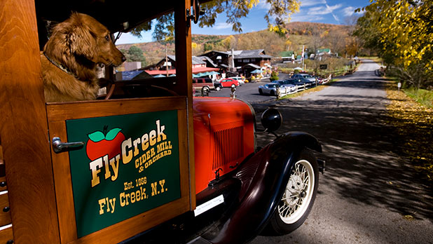 Fly Creek Cider Mill – Photo Courtesy of Fly Creek Cider Mill