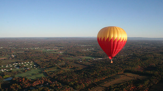 Hot Air Balloon in the Hudson Valley