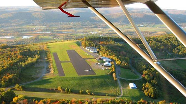 Take Flight over the Finger Lakes