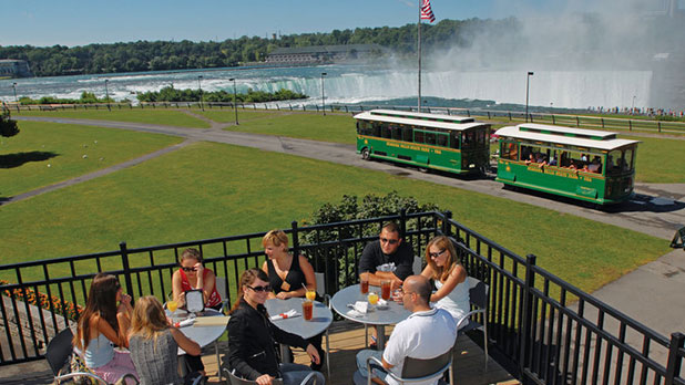Top of the Falls Restaurant at Niagara Falls