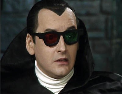 But remember, kids, you have to have a pair of Count Floyd's special 3-D glasses to enjoy the show!