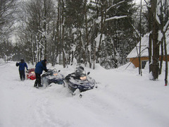 Snowmobiling in Oswego County