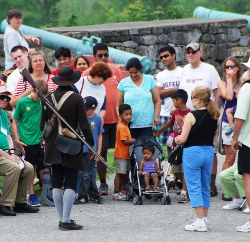 Fort Ticonderoga hosts a day for Homeschool families on Wednesday, October 17th. Students will have the opportunity to participate in a number of specially-designed programs while learning about life at a frontier fort at the beginning of the American Revolution in 1775.