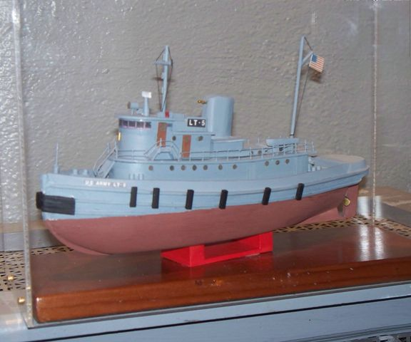 "This model of the National Historic Landmark WWII Tug, LT-5, can be made from a kit available for purchase in the Treasure Chest Gift Shop at the The H. Lee White Marine Museum.  The Marine Museum and the Oswego Railroad Museum are offering ""Beginning Model Building Workshops""."