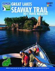 The 2011 Great Lakes Seaway Trail Travel Magazine is now available with editorial stories on wineries, the War of 1812, and enjoying a scenic drive on the 518-mile National Scenic Byway that parallels the St. Lawrence River, Lake Ontario, the Niagara River, and Lake Erie in New York and Pennsylvania.