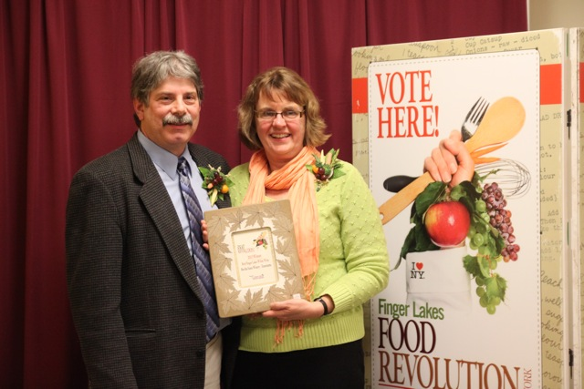 "In the category of ""Best Finger Lakes White Wine,""  Bet the Farm Winery's Traminette won first place.  In 2006, Owner/Winemaker Nancy Tisch began Bet the Farm Winery & Gourmet Market with a vision of a place where customers could taste and purchase the best wine and food from the Finger Lakes."