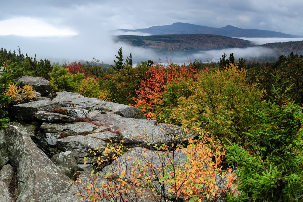 "Photo: ""The View from Sunset Rock"" in Greene County in the northern Catskills, by Francis X. Driscoll (photograph taken Oct. 6, 2013)"