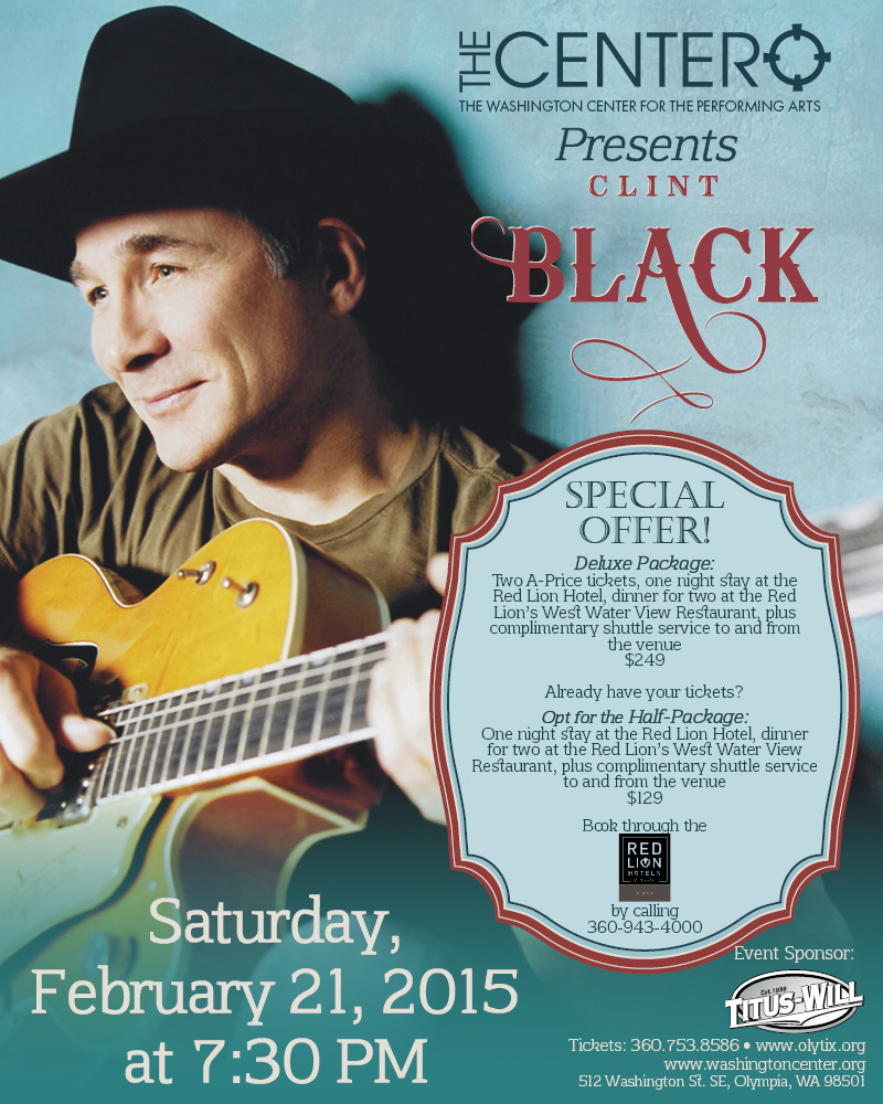 Clint Black Package