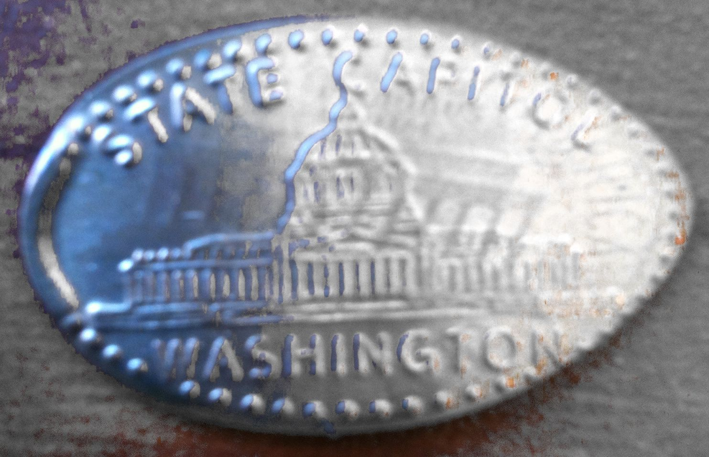 State Capitol Washington Souvenir Penny