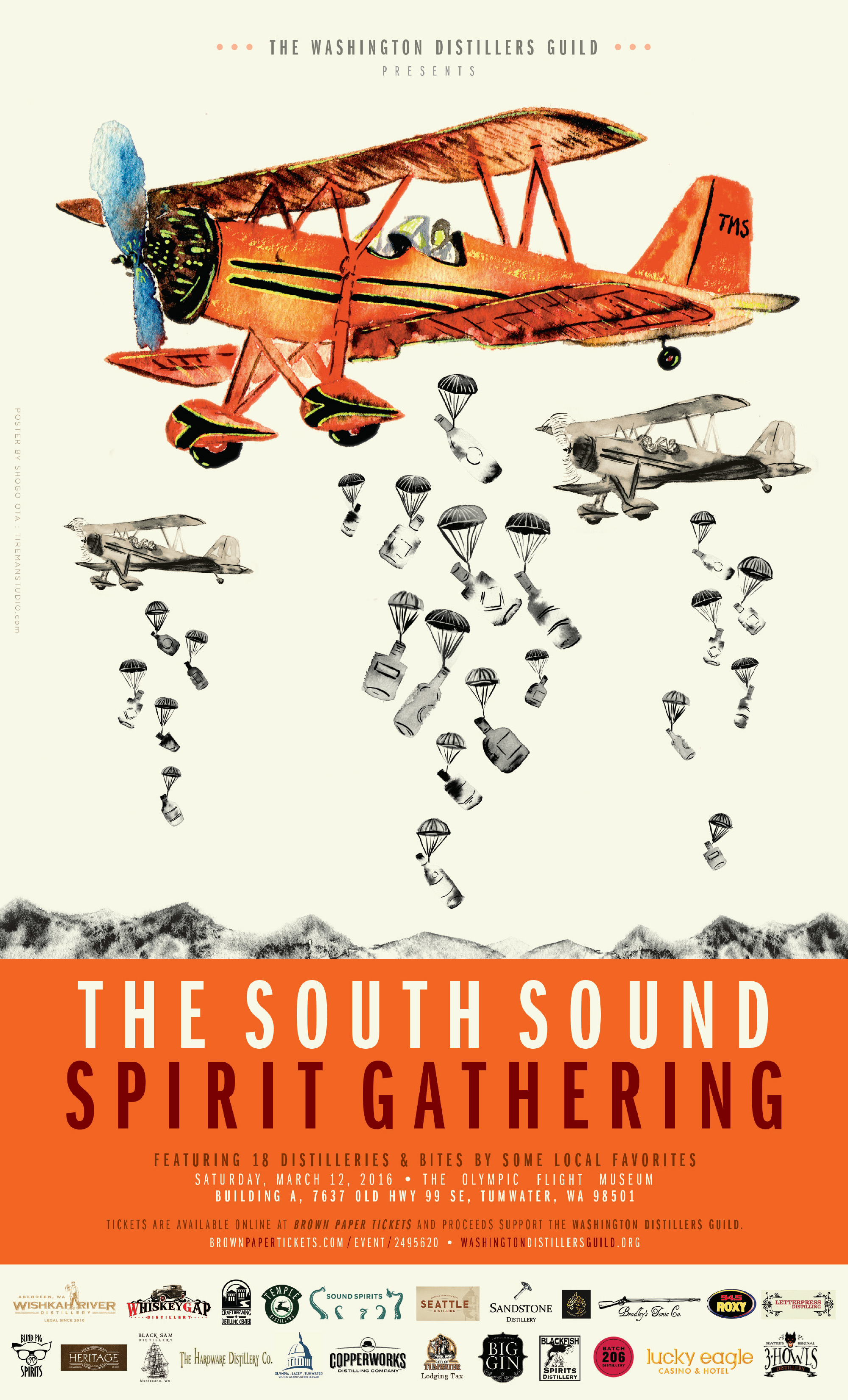 South Sound Spirits Gathering - poster