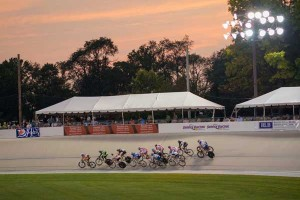 The Velodrome at The Valley Preferred Cycling Center