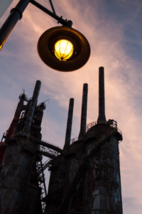 Bethlehem Steel Campus Street Light