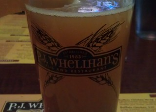Copper Lager at PJ Whelihan's