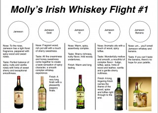 Irish Whiskey Class
