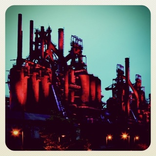 blast furnaces