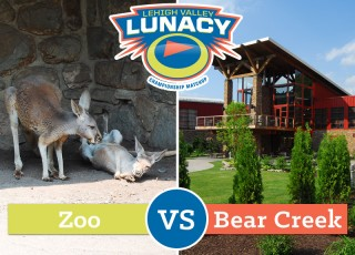 Lehigh Valley Zoo vs Bear Creek Mountain Resort