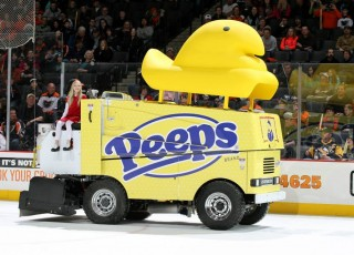 Lehigh Valley Phantoms Peeps Zamboni