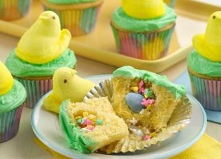Peeps Cupcake treats
