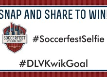 Look for the SoccerFest Selfie Signs