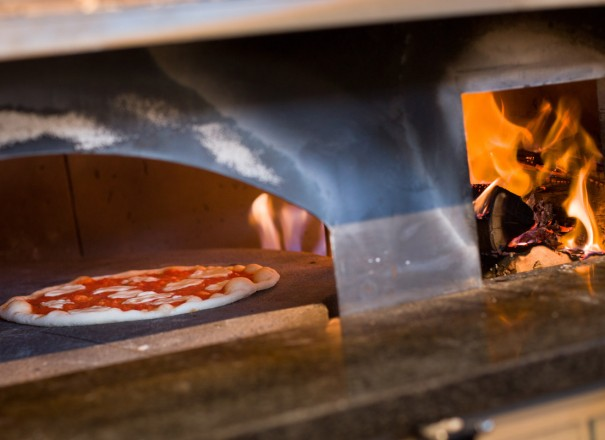Pizza Cooking at The Brick in Bethlehem