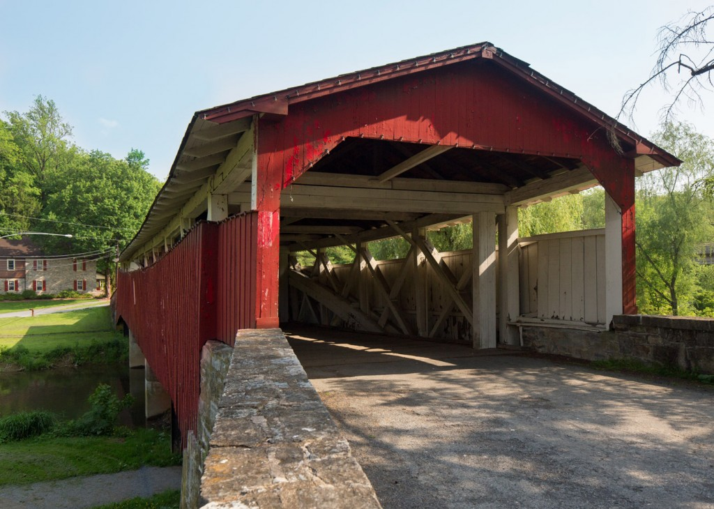 Bogerts Bridge along the Lehigh Valley Covered Bridge Tour