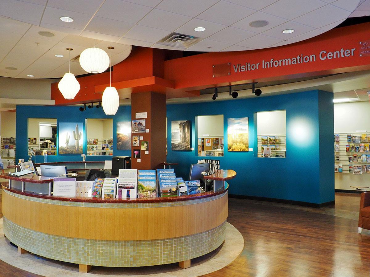 an information center.
