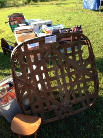 A Tobacco Basket For Sale