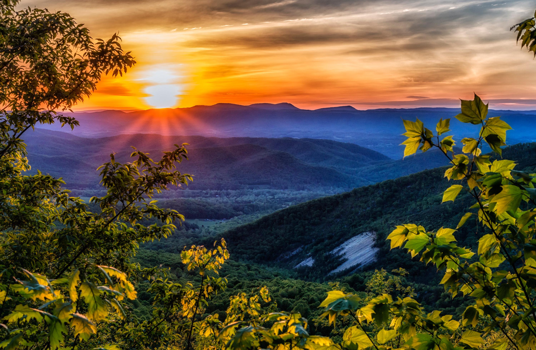 Blue Ridge Mountains Roanoke Va