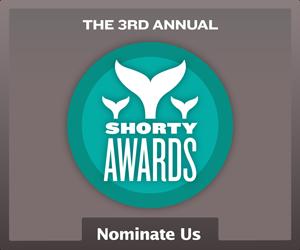 Nominate Columbia, SC for a social media award in the Shorty Awards!