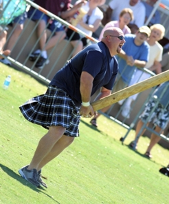 Caber Toss Tartan Day South
