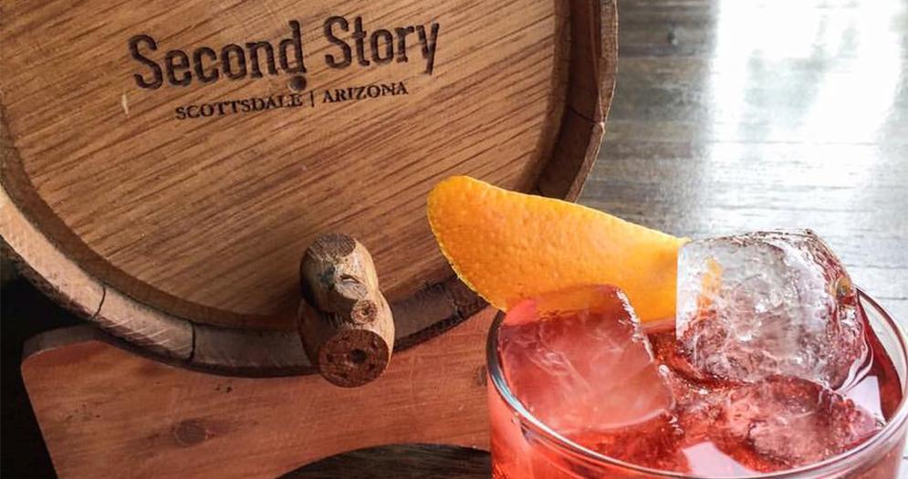 Second Story Liquor Bar Happy Hour