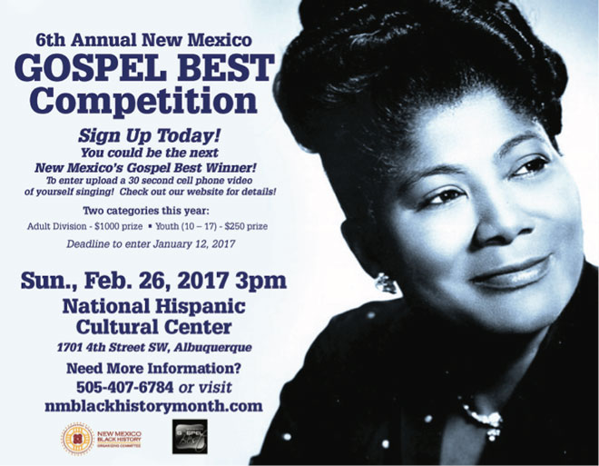 Gospel Best Competition during the Black History Month Festival in Albuquerque, New Mexico
