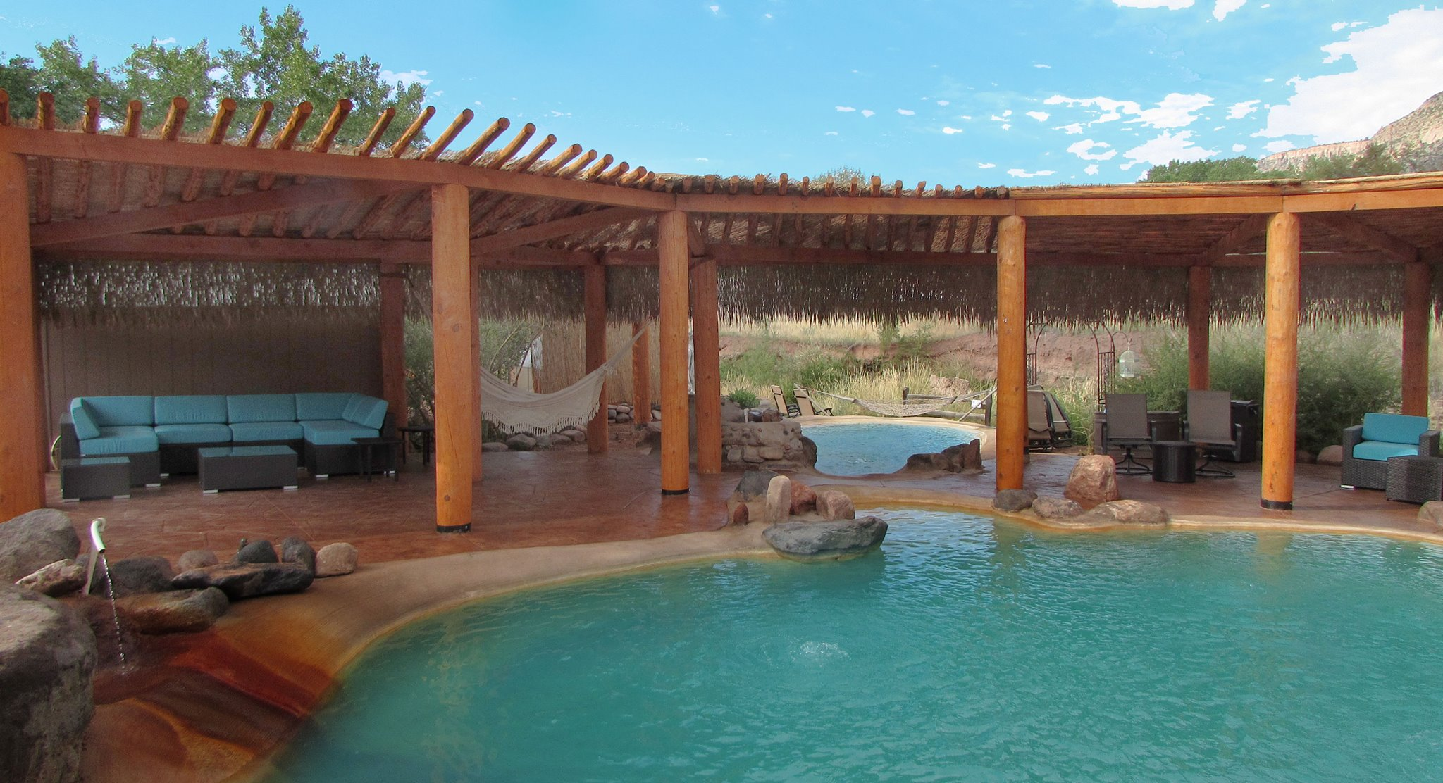 Soak at Jemez Hot Springs - Home of Giggling Springs, a day trip from Albuquerque