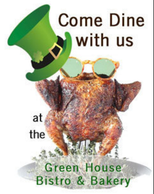 3 course meal in Albuquerque for St. Patrick's Day