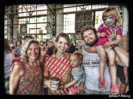 Family friendly fun at the Albuquerque Rail Yards Market