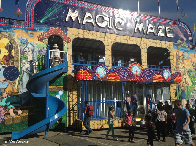 Magic Maze at the New Mexico State Fair in Albuquerque